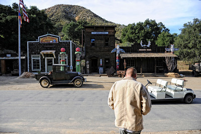 Western town at Rancho Deluxe Movie Ranch in Santa Clarita (Hans Gutknecht/Staff Photographer)