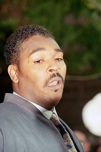 Rodney King  Speaking News Conference