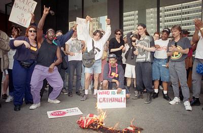 Dems  Riots U.S.  Chicago  R.King Verdict  Reaction