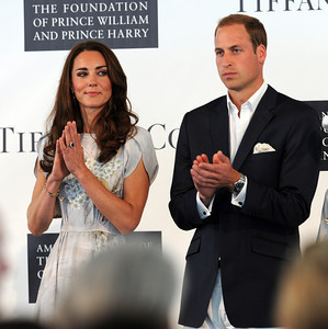Duke and Duchess of Cambridge Prince William and Kate at the Santa Barbara Polo & Racquet Club in Carpinteria, CA Saturday, July 9, 2011. (Hans Gutknecht/LA Daily News)