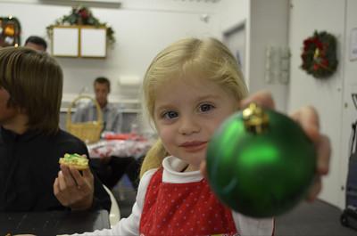Thomas Kenna sent in this picture of a child enjoying Westfield Topanga's Santa Walk 2011.