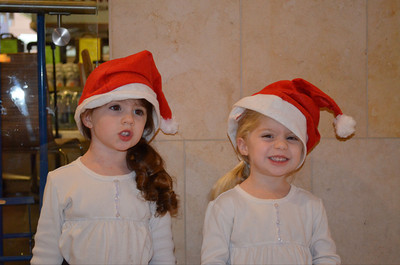 Thomas Kenna sent in this picture of some junior Santas from Westfield Topanga's Santa Walk 2011.