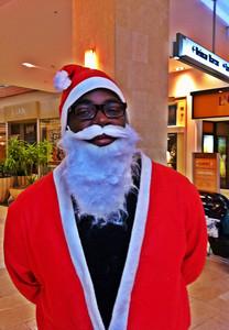 Brandon Samuel at Santa Walk 2011 at the Westfield Topanga Mall.