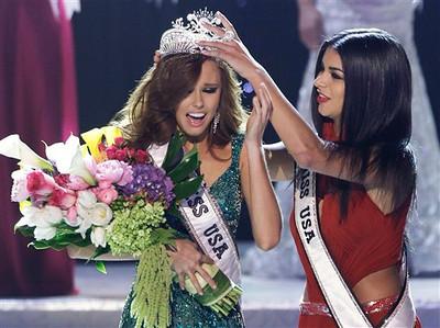 APTOPIX 2011 Miss USA