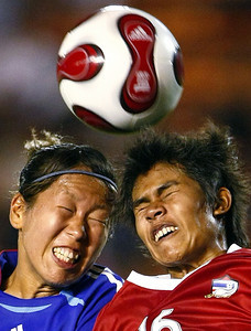 APTOPIX Japan Thailand Womens Soccer