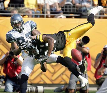 APTOPIX Seahawks Steelers Football