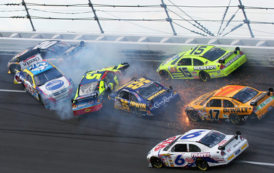 APTOPIX NASCAR Talladega Auto Racing