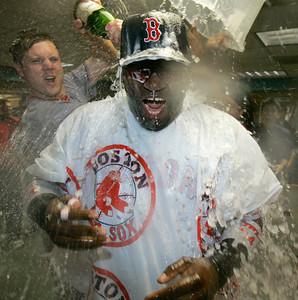 APTOPIX Red Sox Angels Baseball