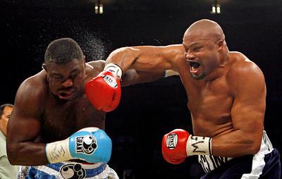 APTOPIX Peter McCline Boxing