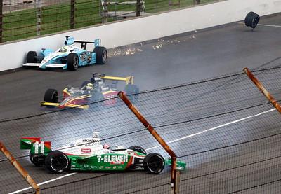IRL Indy 500 Auto Racing