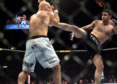 Ultimate Fighting Burkman Parisyan