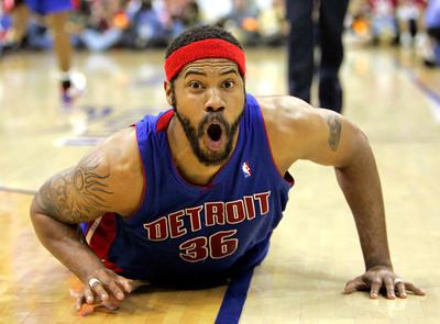 APTOPIX Pistons Cavaliers Basketball