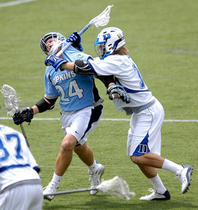 Duke Johns Hopkins Lacrosse