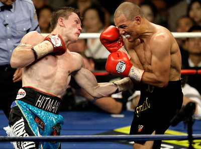 APTOPIX Hatton Castillo Boxing