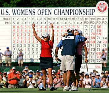 APTOPIX Womens US Open Golf