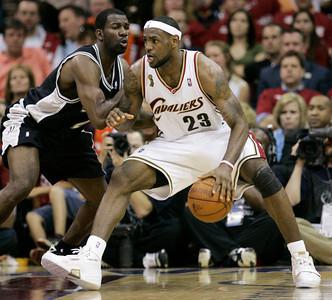 NBA Finals Spurs Cavaliers Basketball
