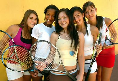 Taft High girls tennis