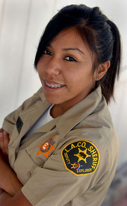 SAC story of teen who is an honor recruit for sheriff's department
