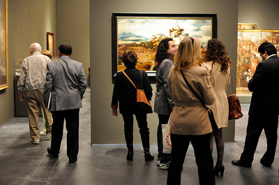 The Contested Visions in the Spanish Colonial World at the Los Angeles County Museum of Art.The Contested Visions in the Spanish Colonial World is the first exhibition in the U.S. to examine the connection between ancient and colonial artistic traditions in Latin America. By considering the pre-Columbian (Inca and Aztec) origins of Mexico and Peru, the show broadens our understanding of how art and power intersected in the Spanish colonial world. (Hans Gutknecht/Staff Photographer)