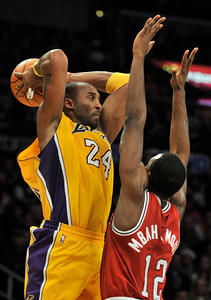 The Lakers were defeated by the Milwaukee Bucks 98 to 79 in a game played at Staples Center in Los Angeles, CA 12-21-2010. (John McCoy/staff photographer)