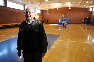Rancho San Antonio Executive Director Brother John Crowe at the home for boy in Chatsworth, CA. (Hans Gutknecht/Staff Photographer)