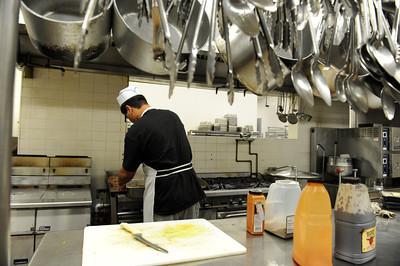 The kitchen at San Antonio home for boys in Chatsworth, CA. (Hans Gutknecht/Staff Photographer)