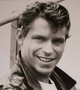 "Jeff Conaway's headshot from ""Grease"""