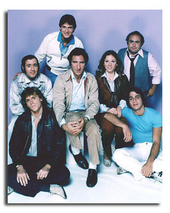 "Jeff Conaway, lower left, and the cast of ""Taxi"""