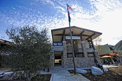 The new County of Los Angeles Topanga Library at 122 N. Topanga Canyon Blvd. in Topanga. (Hans Gutknecht/Staff Photographer)