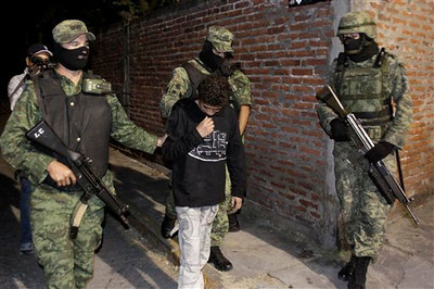 Mexico Drug War Hit Boy Suspect