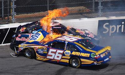 APTOPIX NASCAR Martinsville Auto Racing