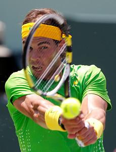 APTOPIX Key Biscayne Tennis