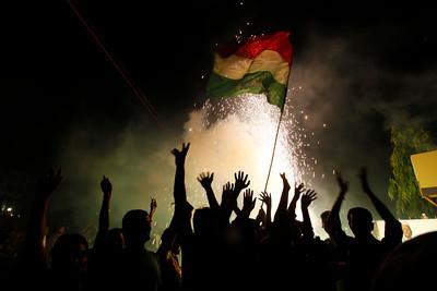 APTOPIX India Cricket WCup Reax