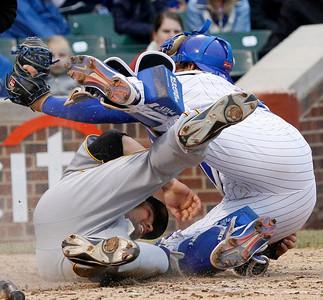 APTOPIX Pirates Cubs Baseball