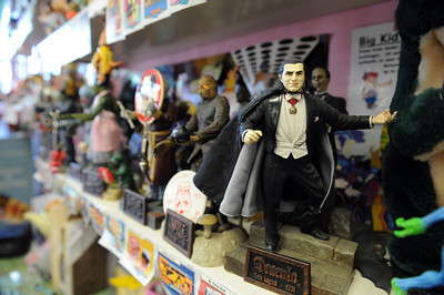 Big Kid Collectable Toy Mall and Retro Store in Sherman Oaks, CA. (Hans Gutknceht/Staff Photographer)