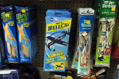 Toys at Tom's Toys in Montrose, CA. (Hans Gutknceht/Staff Photographer)
