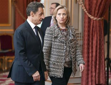 APTOPIX France Libya Diplomacy