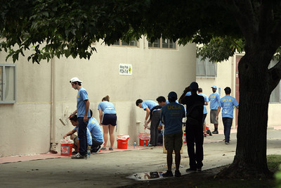 UCLA's second annual Volunteer Day