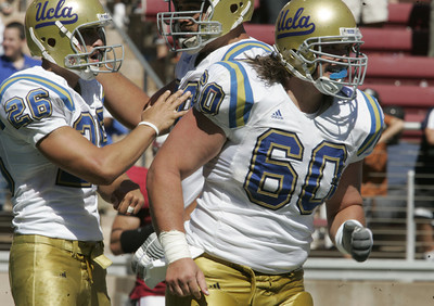 Ucla #60 Chris Joseph reacts during the game on Saturday, September 1st, 2007. (Edna T. Simpson)