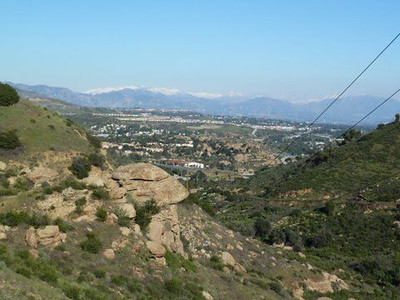 Los Angeles Daily News reader Sheila Roberson sent in this photo of Santa Susana Pass Road taken on Sunday, Feb. 27, 2011.