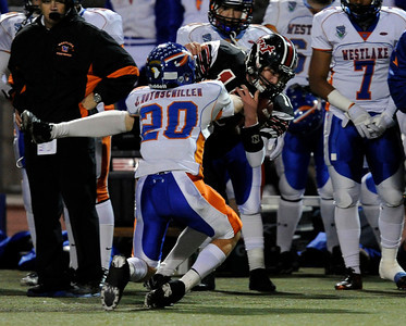 Westlake vs Hart CIF football playoffs at College of the Canyons in Santa Clarita Friday, November 25, 2011. (Hans Gutknecht/Staff Photographer)