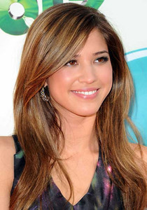 Actress Kelsey Chow wears M.C.L by Matthew Campbell Laurenza Dew Gem earrings to the Nickelodeon Kids' Choice Awards at USC's Galen Center on March 31, 2012.