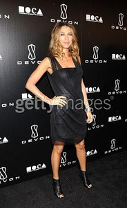 Actress Natalie Zea wears Devon to the grand opening of the Beverly Hills store on Dec. 8. The evening benefited the Museum of Contemporary Art, Los Angeles.