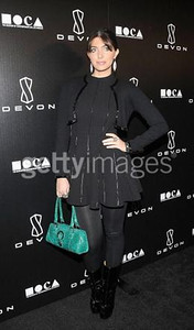 Brittny Gastineau wears Devon to the grand opening of the Beverly Hills store on Dec. 8. The evening benefited the Museum of Contemporary Art, Los Angeles.
