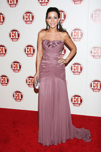 Actress Marisol Nichols wears a Katerina Maxine 18K white gold ring with rubylite diamonds to the Entertainment Tonight Emmy Party at Vibiana on Sept. 18, 2011.