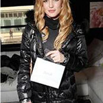 Actress Caity Lotz wears a down coat by 1 Madison at the Sundance Film Festival in Park City, Utah, on Jan. 22, 2012.