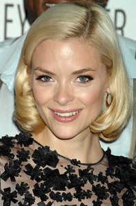 Actress Jaime King wears Le Vian 14K rose gold black diamond hoops to the CW fall preview party at the Paley Center for Media in Beverly Hills on Sept. 7, 2011.