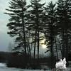 Winter Sun at KSP, Kingston, NH.<br /> January 13, 2010