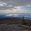 Went to Mount Roberts again today. Silver glass on Lake Winnepesaukee... November 29, 2012.