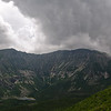 Storm clouds roll over Baxter Peak, Baxter State Park, Maine... August 15, 2012.